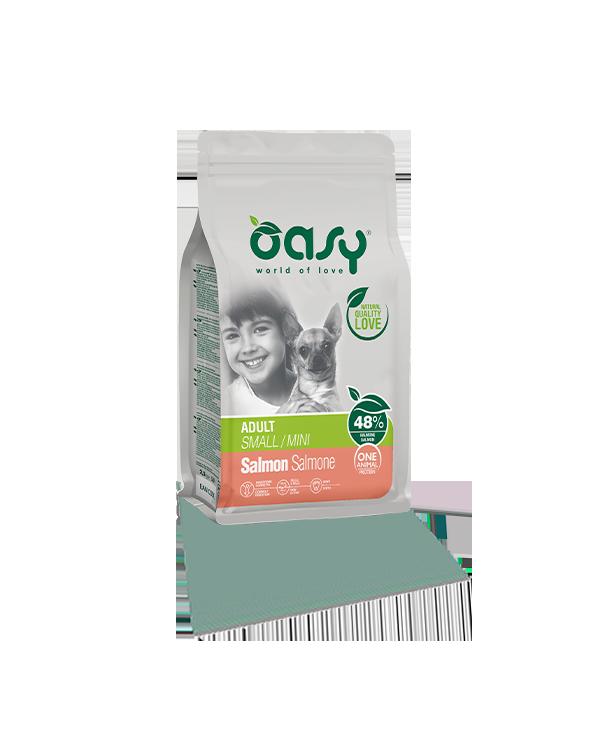 Oasy One Animal Protein - Adult Mini Salmone