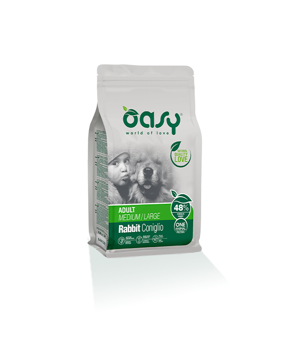 Oasy Dog OAP Adult Medium Large Coniglio 12 kg
