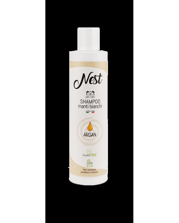 Nest Shampoo per Cani Manti Bianchi 250 ml