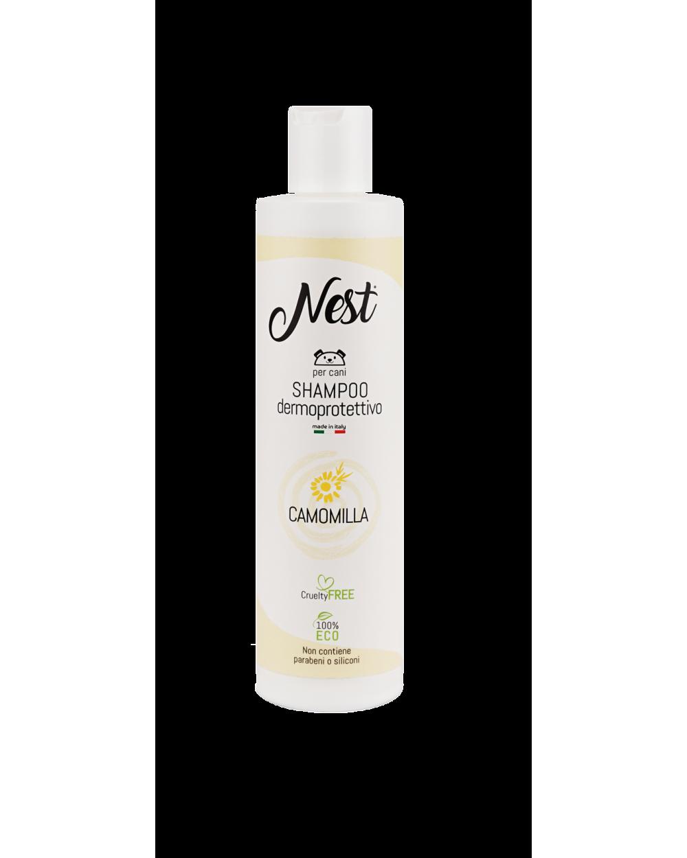 Nest Shampoo per Cani Dermoprotettivo 250 ml
