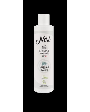 Nest Shampoo per Cani Pelo Corto Muschio Bianco 250 ml