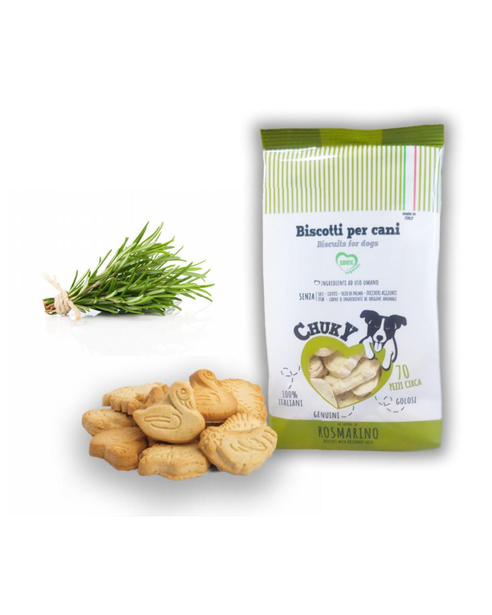 Chuky Biscotti per Cani Rosmarino 370 g