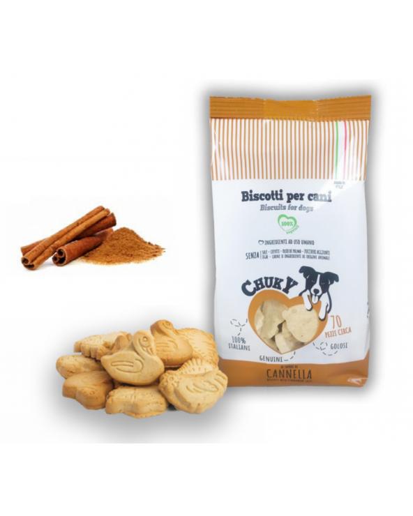 Chuky Biscotti per Cani Cannella 370 g