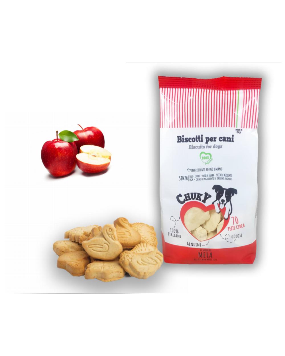 Chuky Biscotti per Cani Mela 370 g
