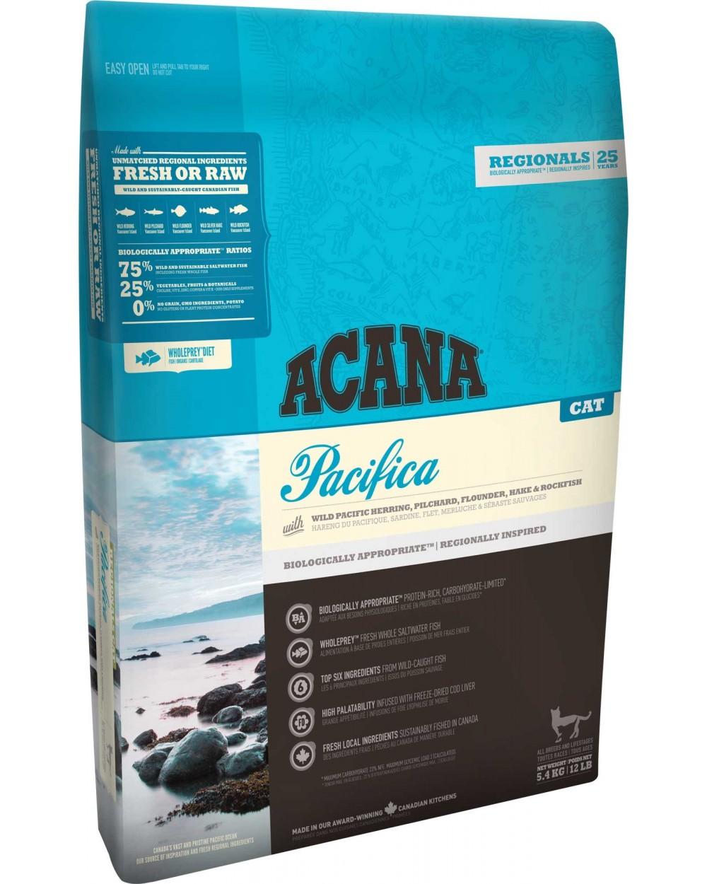 Acana Cat Regionals Pacifica 1.8 kg