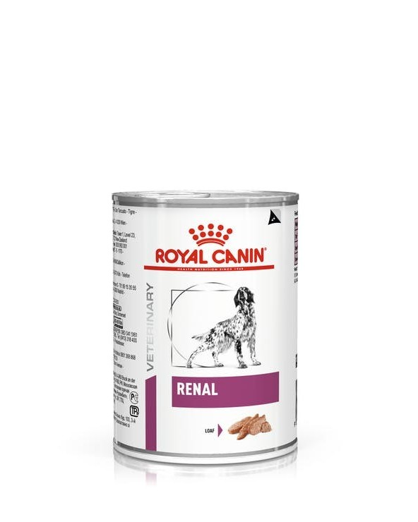 Royal Canin Canine Veterinary Diet Renal Lattina in Patè 410 g