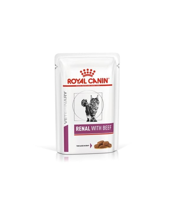 Royal Canin - Renal with Beef - umido