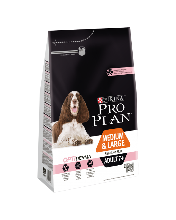 Pro Plan Dog Mature & Senior 7+ Medium OPTIderma con Salmone 3 kg