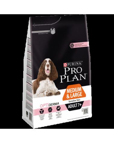 Pro Plan Mature & Senior Medium Optiderma Salmone