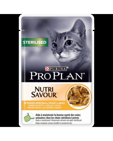 Pro Plan Sterilised Nutrisavour in Salsa con Pollo