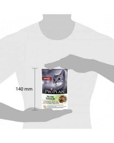 Pro Plan Adult Nutrisavour con Agnello in Gelatina