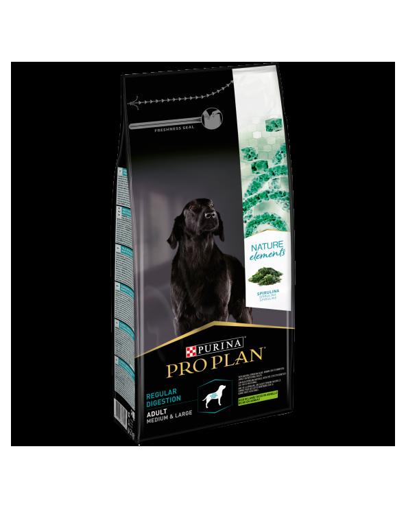 Pro Plan Dog Nature Element Adult Medium & Large Regular Digestion Agnello Riso e Alga Spirulina 2 kg