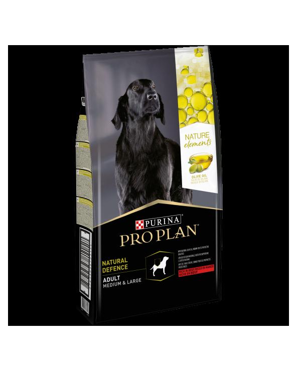 Pro Plan Dog Nature Element Adult Medium & Large Natural Defence Manzo Riso e Olio d'Oliva 700 g