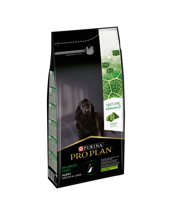 Pro Plan Dog Nature Elements Puppy & Junior Medium & Large Agnello Riso e Spinaci 700 g