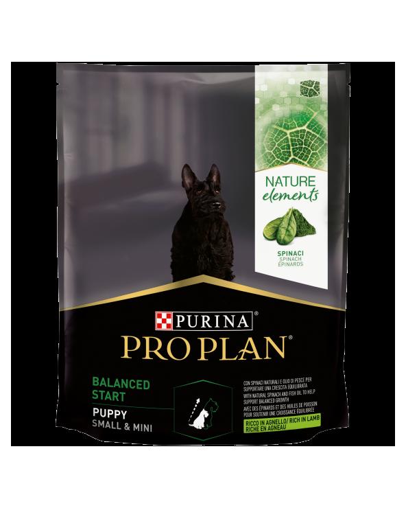 Pro Plan Dog Nature Elements Puppy & Junior Small & Mini Agnello Riso e Spinaci 700 g