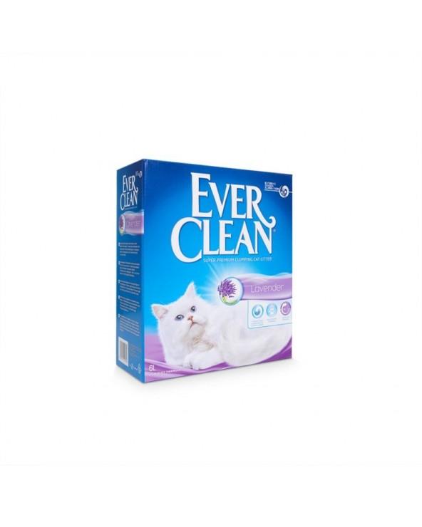 Ever Clean Lavender Lettiera Agglomerante Profumata per Gatti 6 Lt