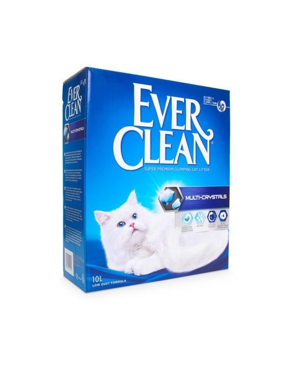Ever Clean Multi-Crystal Lettiera Agglomerante per Gatti 10 Lt