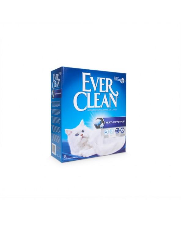 Ever Clean Multi-Crystal Lettiera Agglomerante per Gatti 6 Lt
