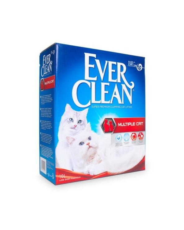 Ever Clean Multiple Cat Lettiera Agglomerante per Gatti 10 Lt