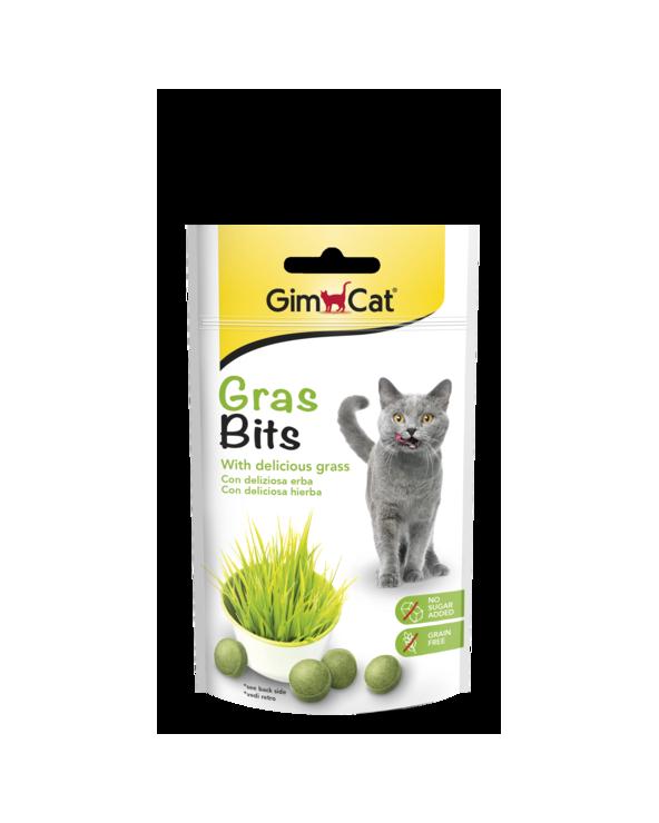 Gimcat Snack per Gatti Grass-Bit 50 g