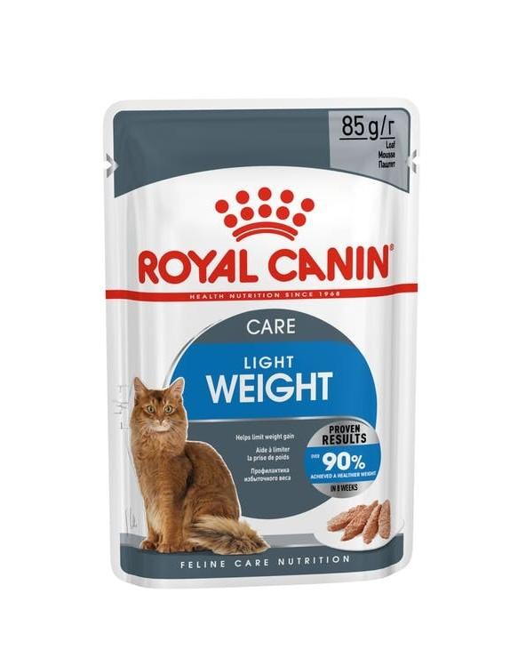Royal Canin Feline Care Nutrition Ultra Light Loaf - Bustine in Patè 85 g