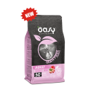 Oasy Dog Grain Free Adult Medium aOasy Dog Grain Free Adult Small e Mini Maiale 800 ge Large Maiale 2.5 kg
