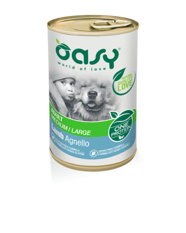 Oasy Umido Cane Monoproteico - Adult Agnello