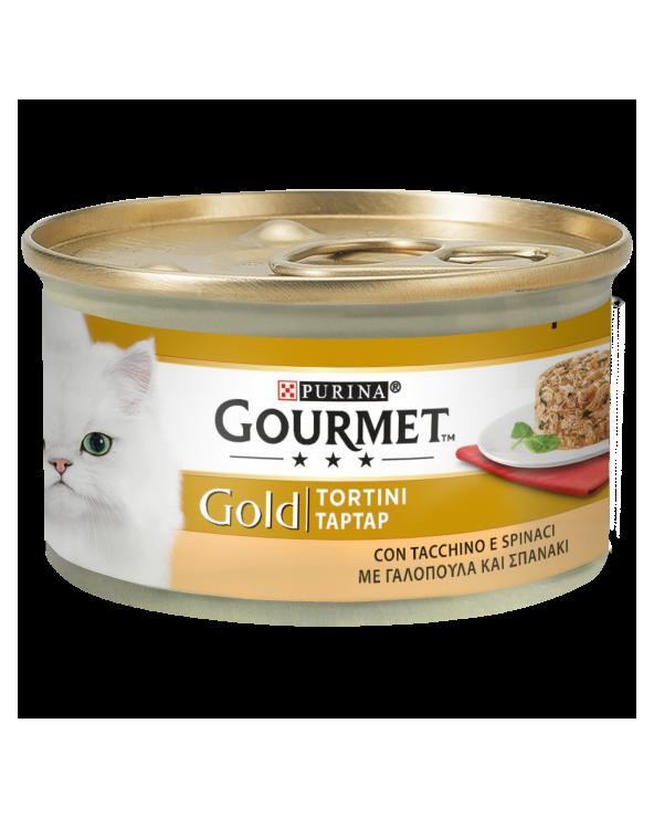 Gourmet Gold Tortini Tacchino e Spinaci