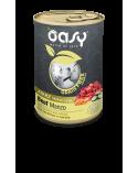 Oasy Dog Grain Free Adult Medium Large Monoproteico Manzo Zucchine e Carote Lattina 400 g