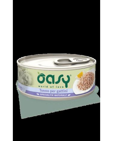 Oasy Cat Specialità Naturali Tonno per Gattini Lattina 150 g