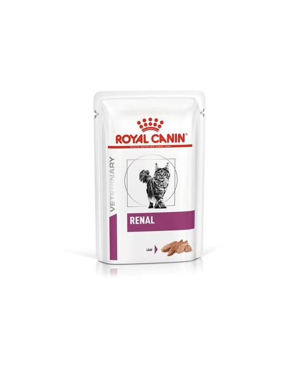 Royal Canin Feline Veterinary Diet Renal Loaf Bustina 85 g