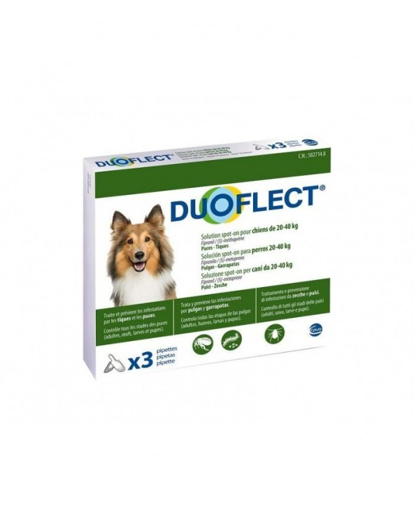 Duoflect Spot-on per Cani 10-20 kg - 3 Fiale