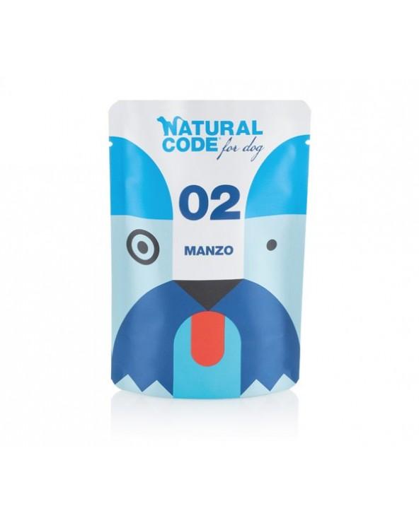 Natural Code Dog P02 Adult Manzo Soft Jelly Bustina 100 g