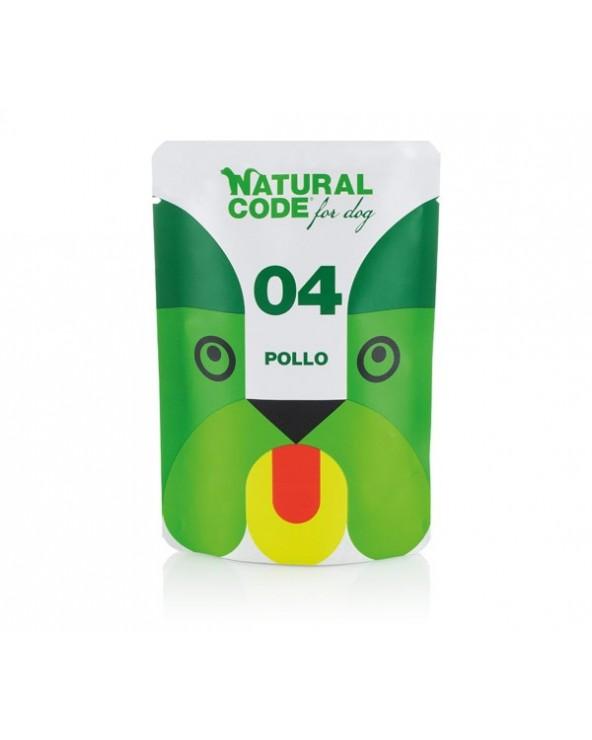 Natural Code Dog P04 Adult Pollo Soft Jelly Bustina 100 g