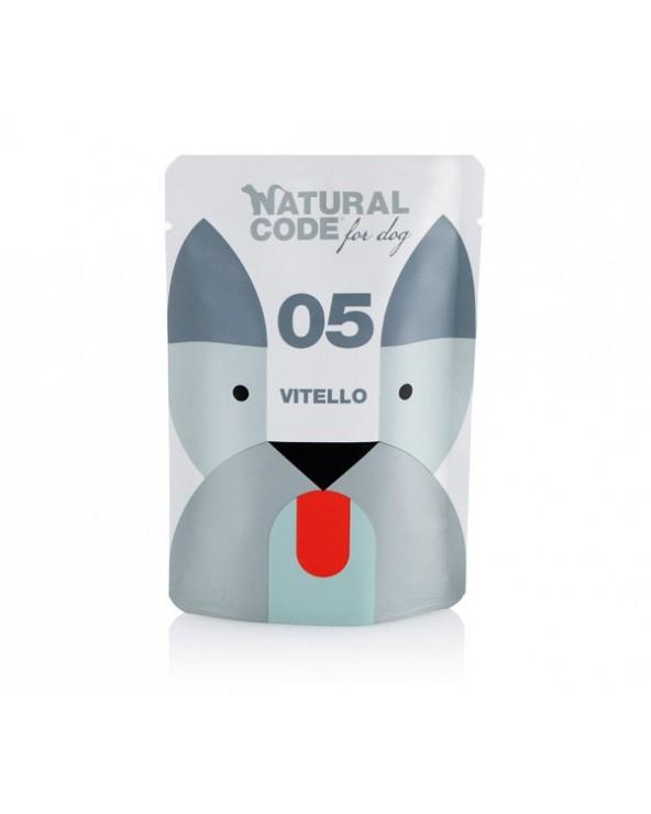 Natural Code Dog P05 Adult Vitello Soft Jelly Bustina 100 g
