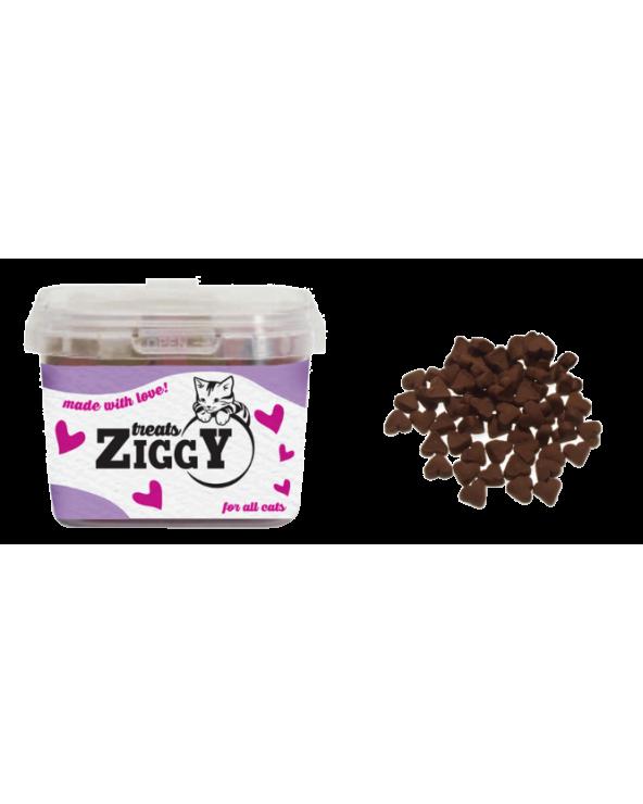 Ziggy Treats Snack per Gatti Cuoricini con Agnello 140 g