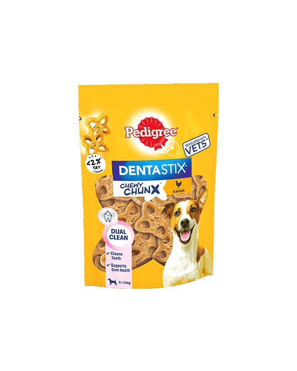 Pedigree Dentastix Chewy ChunX Mini con Pollo 68g
