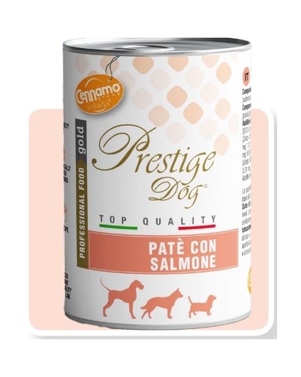 Prestige Dog Umido Patè con Salmone 400 g