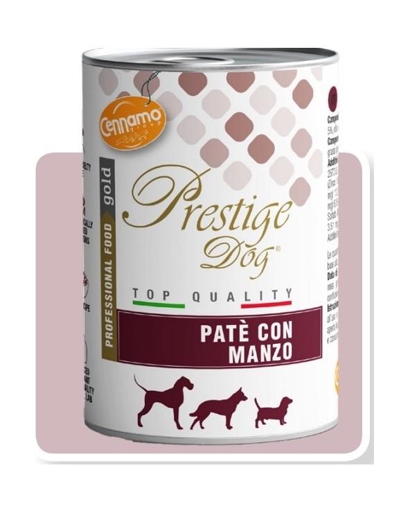 Prestige Dog Umido Patè con Manzo 400 g