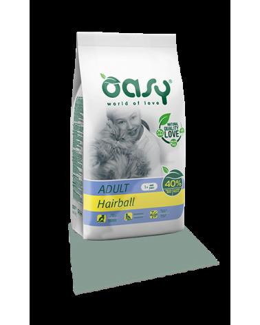 Oasy Cat Adult Hairball con Pollo 300g