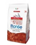 Monge Mini Puppy & Junior Agnello e Riso