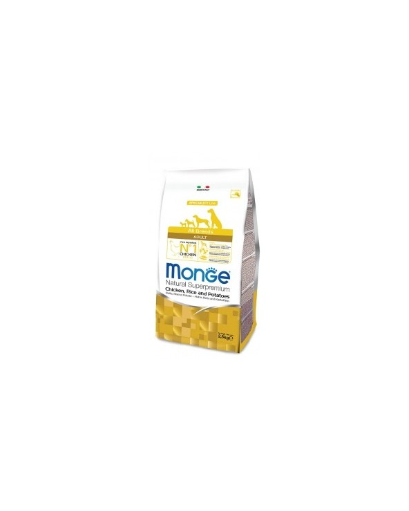 Monge All Breeds Adult Pollo, Riso e Patate 2.5kg